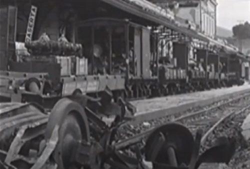 Bombardamento di Caserta, 27 agosto 1943 - Stazione ferroviaria