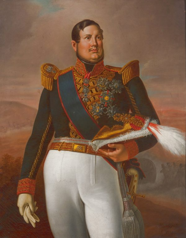Ritratto di Ferdinando II di Borbone, 1844, Reggia di Caserta.